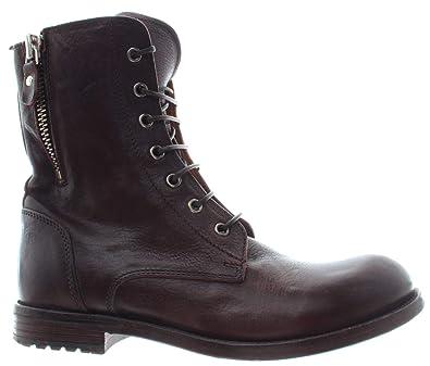 MOMA Damen Schuhe Stiefeletten 84805 2B Cusna TMORO Ebony