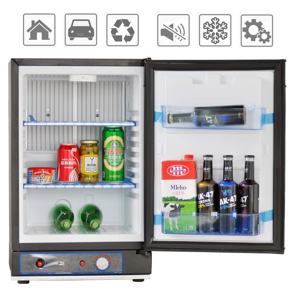 3 Way Refrigerator >> Amazon Com Smad Small Propane Fridge 3 Way Refrigerator For Rv
