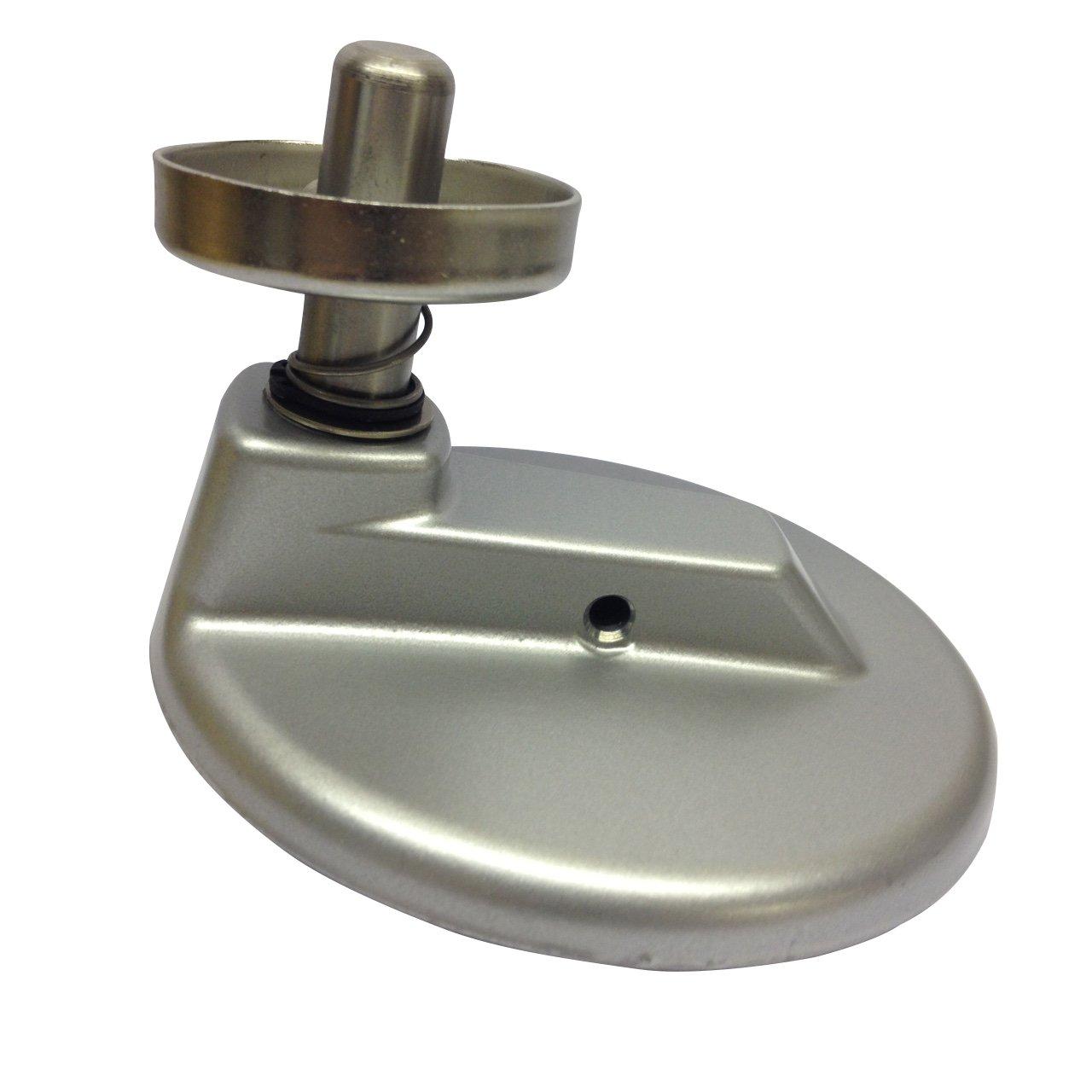 KitchenAid 7QT (6.9l) mixer planetario in argento metallizzato. W10452357