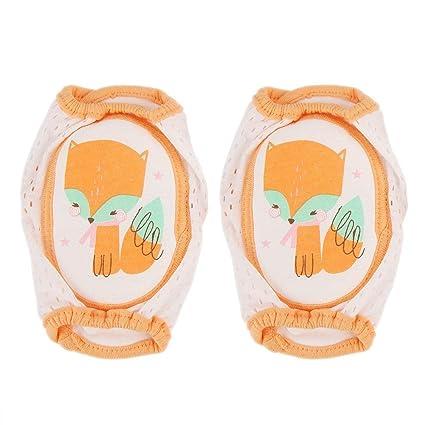 Rodilleras para bebés, ajustable para protector rodilleras ...