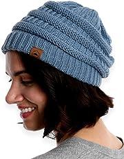 Tough Headwear Cable Knit Beanie - Thick 368cd6f2087c