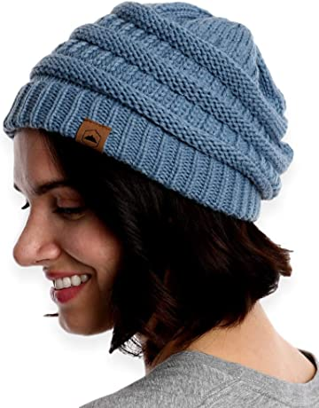 d4a9461f3be Tough Headwear Cable Knit Beanie - Thick
