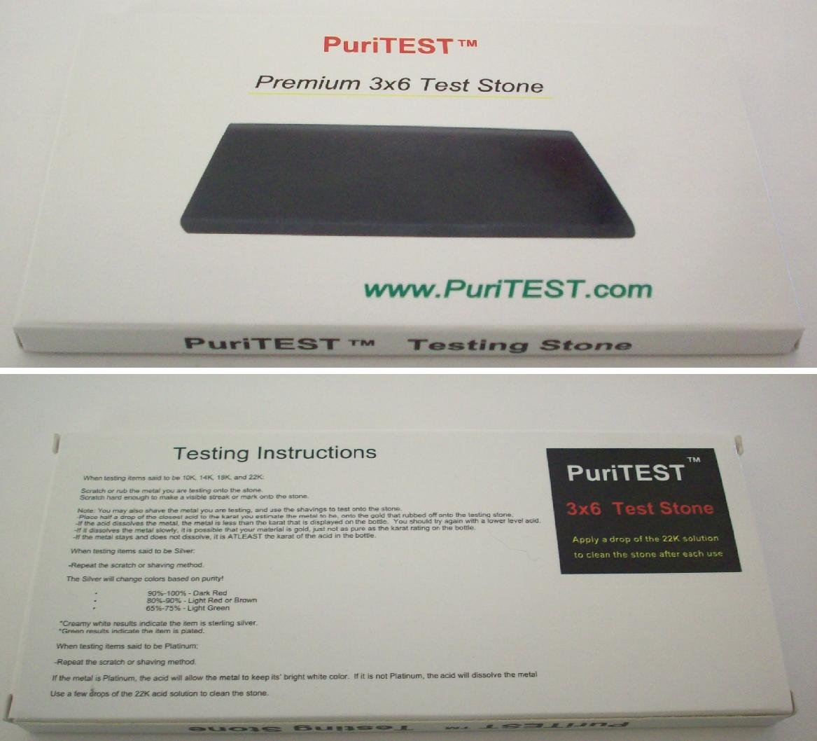 PuriTEST Purity Pack for testing Diamonds Gold Silver Platinum. Electronic Machine by PuriTEST (Image #3)