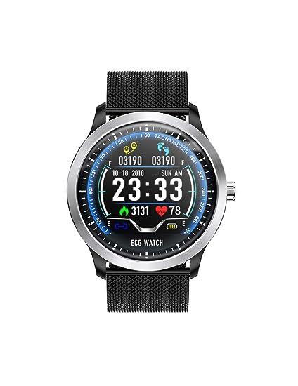DZKQ Reloj Inteligente con Electrocardiógrafo Monitor De ...