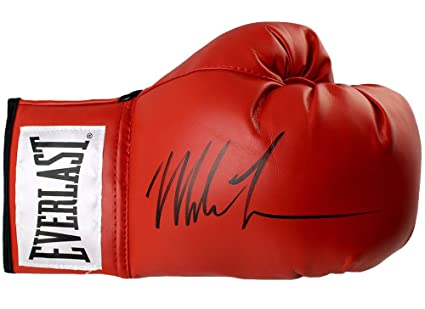 7ce64889b3e Image Unavailable. Image not available for. Color  Mike Tyson Signed  Autographed Everlast Boxing Glove JSA AUTHENTIC