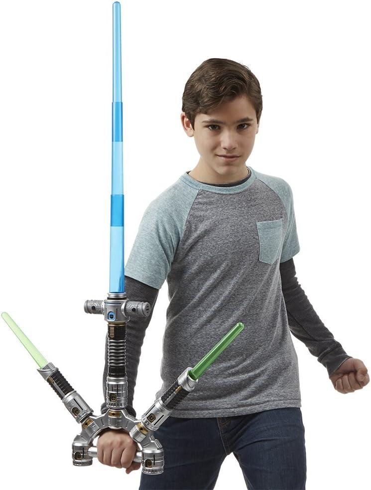 Hasbro Star Wars Star Wars E7 Spada Elettronica Deluxe, Colore Maestro Jedi Laser, B2949 Maestro Jedi Spada Laser