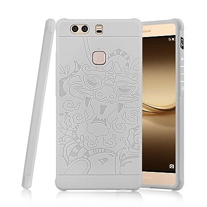Amazon.com: Huawei P9 Plus Caso, lwgon Aviación aluminio ...