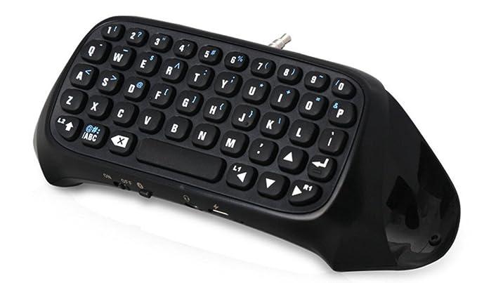 Controlador de juegos inalámbrico Teclado inalámbrico Bluetooth para PS4 Game Controller Entrada de idioma de la