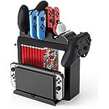 Toys&Hobbies Game CD Card Disk Storage Divider Shelf Gamepad Hook Game Console Holder Multifunction Bracket for Nintendo Switch
