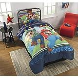 Best NINTENDO Comforters - Super Mario Bros Twin Comforter & Sheet Set Review