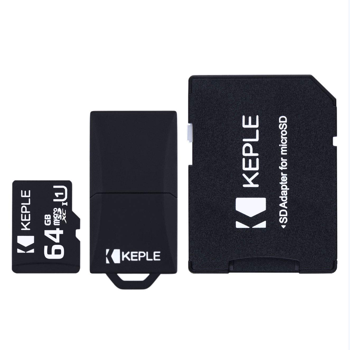 64GB microSD Memory Card by Keple | Micro SD Class 10 for Samsung Galaxy Tab S2 8.0, E SM-T560, S2 SM-T813, A SM-T580, 3 Lite SM-T110, Linx, Tab 4 - ...