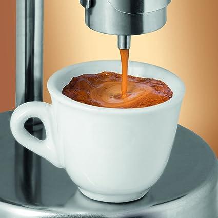 Kamira versión de colores naranja, el espresso cremoso italiano en ...