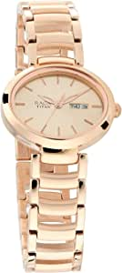 Titan Viva Analog Rose Gold Dial Women's Watch-2620WM01