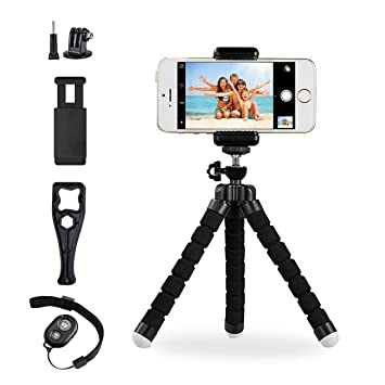 Delightful Octopus Style Portable And Adjustable Tripod Stand Holder For IPhone,  Android Phone, Camera,