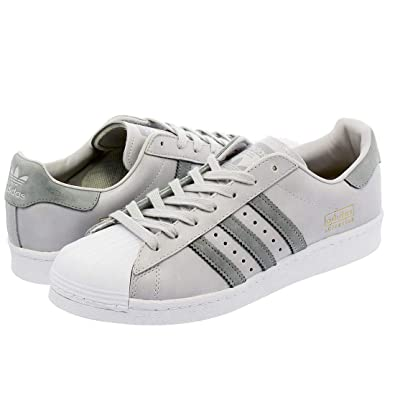 adidas Originals Superstar Boost Grey White Mens Trainers