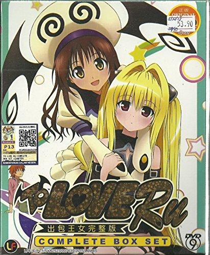 TO LOVE RU - COMPLETE TV SERIES DVD BOX SET ( 1-72 EPISODES ) (Ru G)