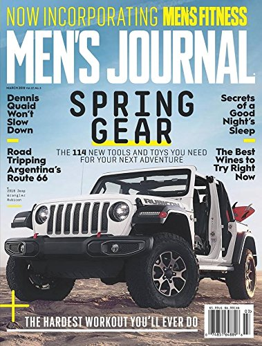 Men's Journal - Gear Year Of The Outdoor Magazine