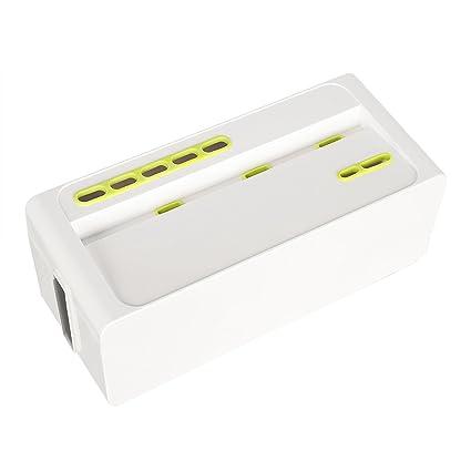 Amazon.com: Gloriest Cable Management Box Organizer Large Storage ...