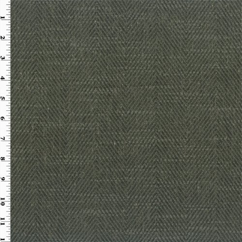 Mako Gray Zegna Herringbone Home Decorating Fabric, for sale  Delivered anywhere in USA