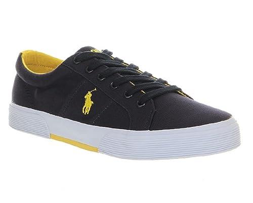 Ralph Lauren - Zapatillas de casa Hombre, Color Azul, Talla 42: Amazon.es: Zapatos y complementos