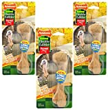 (3 Pack) Nylabone Healthy Edibles Wild Turkey Treat Bone for Dogs – Size Large Review