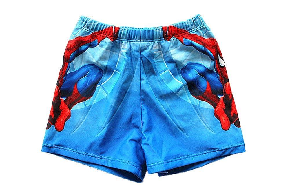 UK SELLER Boys Kids Swimming Trunks Shorts Beach Spider-Man C Character Design 2-8 Years