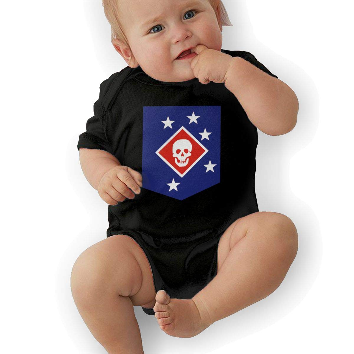 Bodysuits Clothes Onesies Jumpsuits Outfits Black Marine Raiders Baby Pajamas