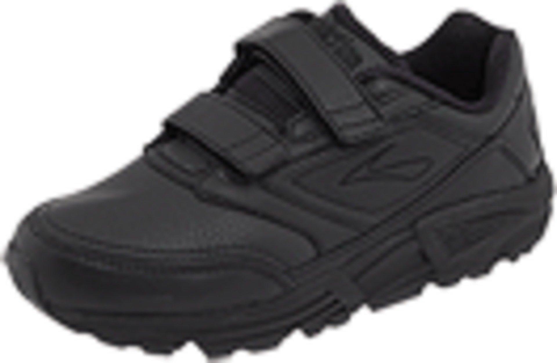 Brooks Women's Addiction Walker V-Strap Walking Shoe,Black,7.5 B