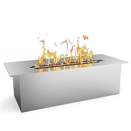 Regal Flame SLIM 12 Inch Bio Ethanol Fireplace Burner Insert   1.5 Liter
