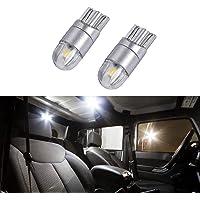 Jeep Wrangler Accessories JK LED Interior lighting kit - License Plate LED's 6000K Super White(Pack of 2)