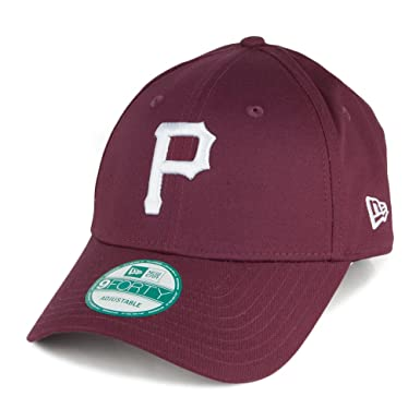 2112da4587b4 Casquette 9FORTY League Basic Pittsburgh Pirates Bordeaux New Era - Bordeaux  - Ajustable