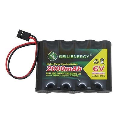 Amazon.com: Geilienergy - Batería NiMH de alta capacidad de ...