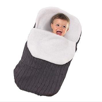 Warmer Schlafsack Winter Babydecke Neugeborenen Schlafsack Swaddle Wrap Decke DE