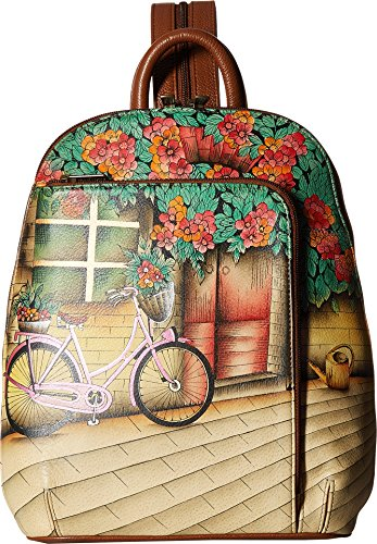 Anuschka Handbags Women's 487 Sling Over Travel Backpack Vintage Bike Handbag by ANUSCHKA