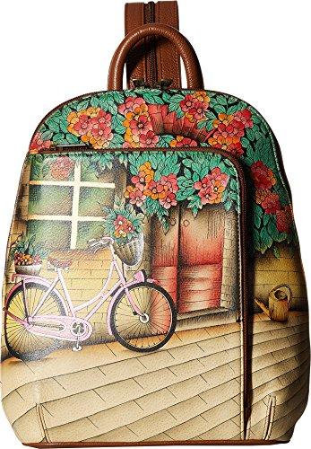 Anuschka Sling-Over Travel Backpack (Vintage Bike)