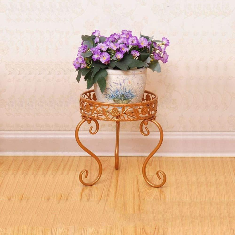 basso prezzo del 40% CWLLWC Cremagliera di Fiori, Terra Flowerpot Rack-Balcone in Ferro, la la la Coperto Multifunzionale della pianta-Cornice Fiore in Vaso  negozio online
