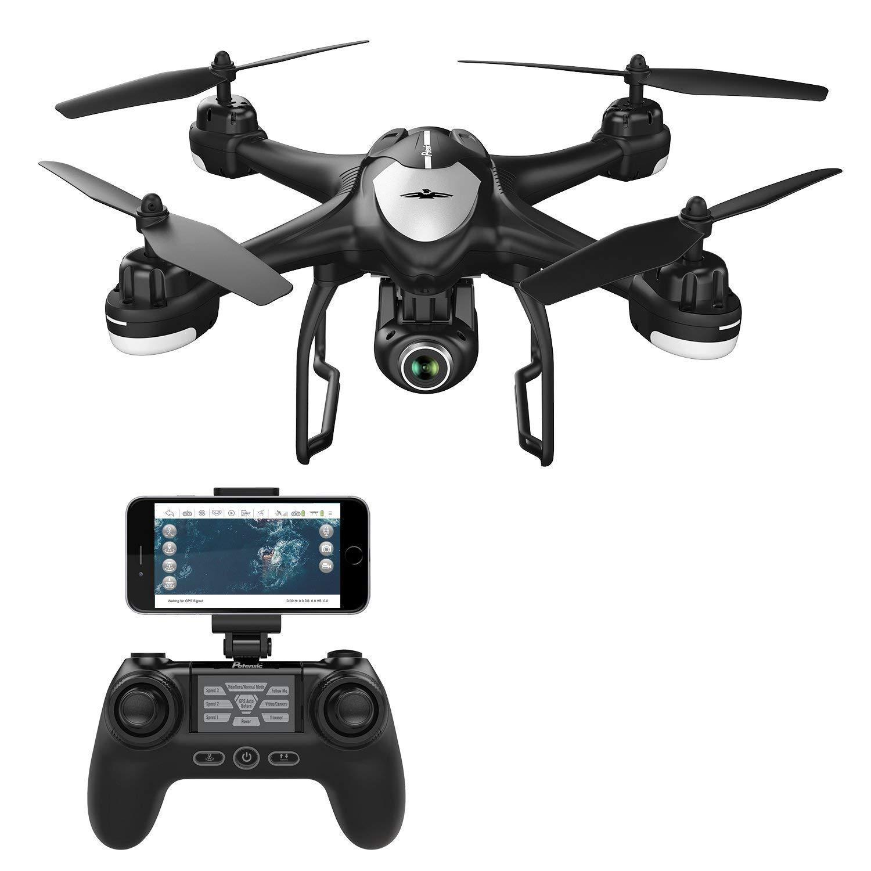 MEETGG Drone CÁ Mara 1080P HD FPV, RC Drone WiFi, Dual GPS ...