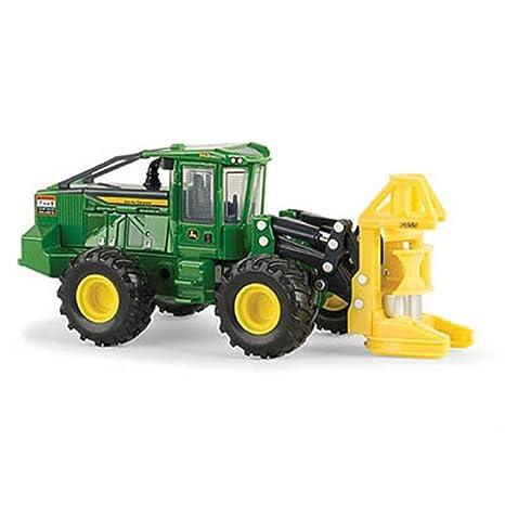 Amazon com: John Deere ERTL 1/50 843L Wheeled Feller Buncher