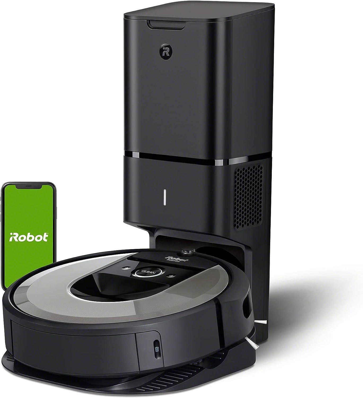 iRobot Roomba i7556 Aspirateur Robot connecté avec système d'autovidage et aspiration surpuissante...