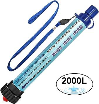 Filtro de Agua DeFe 2000L Personal Sistema de Filtración de Agua ...