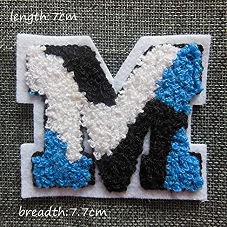 fairyteller seleccione toalla de letra para coser bordado de tela parches para ropa DIY accesorios Sew On apliques c282-c369: Amazon.es: Juguetes y juegos