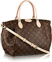 a9f8f9091617 Authentic Louis Vuitton Monogram Canvas Turenne MM Tote Bag Handbag Article   M48814 Made in France