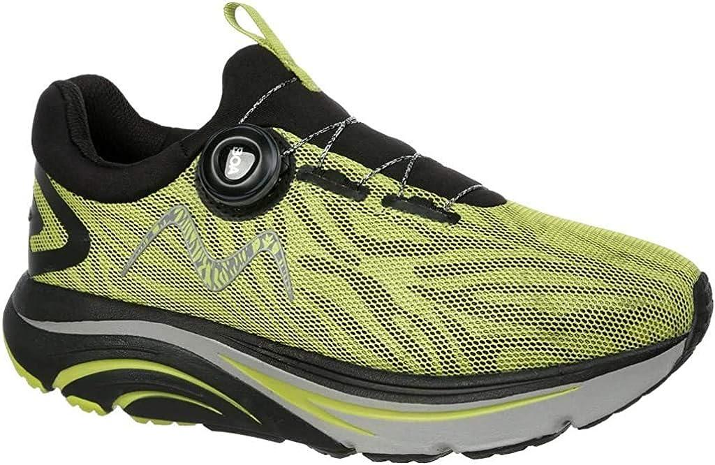 MBT Hombre Zapatos de Cordones GT 2 Boa M, de Caballero Patín de Ruedas, Zapatillas de Deporte,Zapato Sanitario,Black/Green,12.5 US, 11.5 UK: Amazon.es: Zapatos y complementos