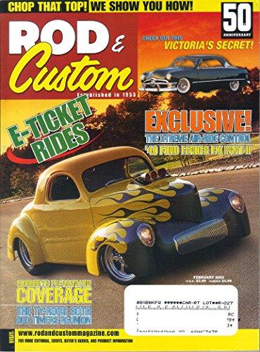 Rod & Custom Magazine, February 2003 (Vol. 37, No.2) 41 Willys Coupe Hot Rod