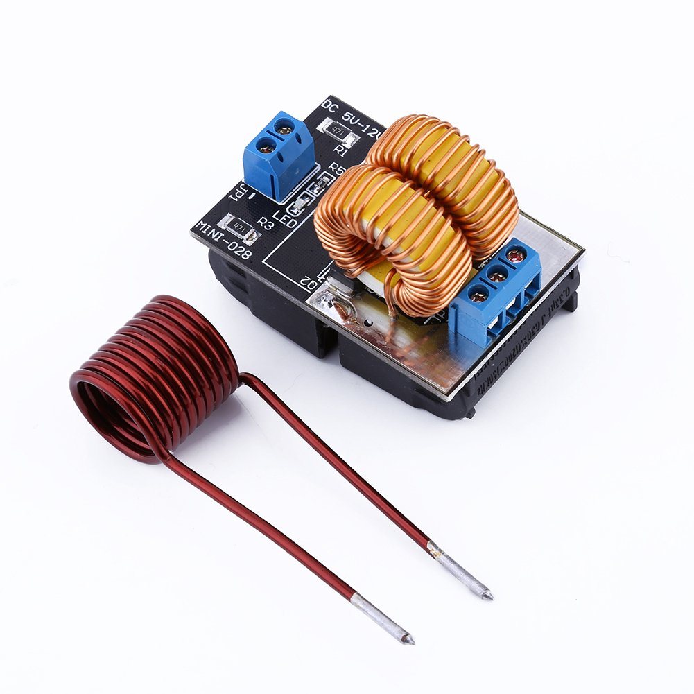 Yosoo 5V-12V ZVS Low Voltage Induction Heating Power Supply Module With Coil by Yosoo