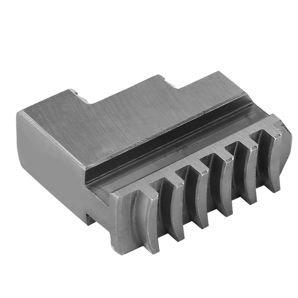 mandrin /à 3 mors auto-centrant en m/étal Tourne-mandrin de 100 mm de diam/ètre en acier semi-acier en fonte de haute qualit/é pour le tour /à bois Tourne-mandrin