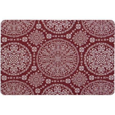 Medallion Red Sedona Cushion Comfort Mat, 18