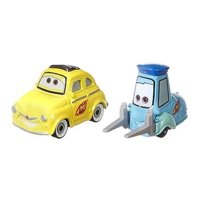 Disney Pixar Cars Race Team Luigi & Guido: Toys & Games