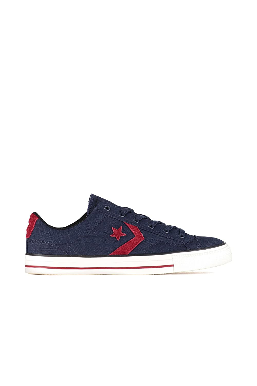Converse Cons Star Player Sneaker (Obsidian/Rot)