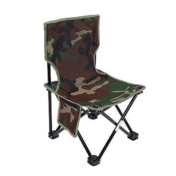 Chaise Pliante De Pêche Fauteuil pêcheur Portable Chaise De Camping De Pique nique Siège Pliable Chaise Stable De Plage Camouflage